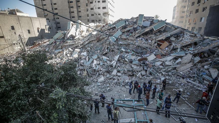 Ascienden los muertos en Gaza, tras una nueva noche de bombardeos israelíes