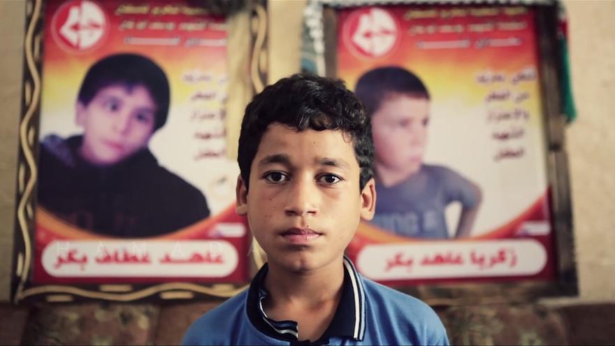 Fotograma de 'Nacido en Gaza'