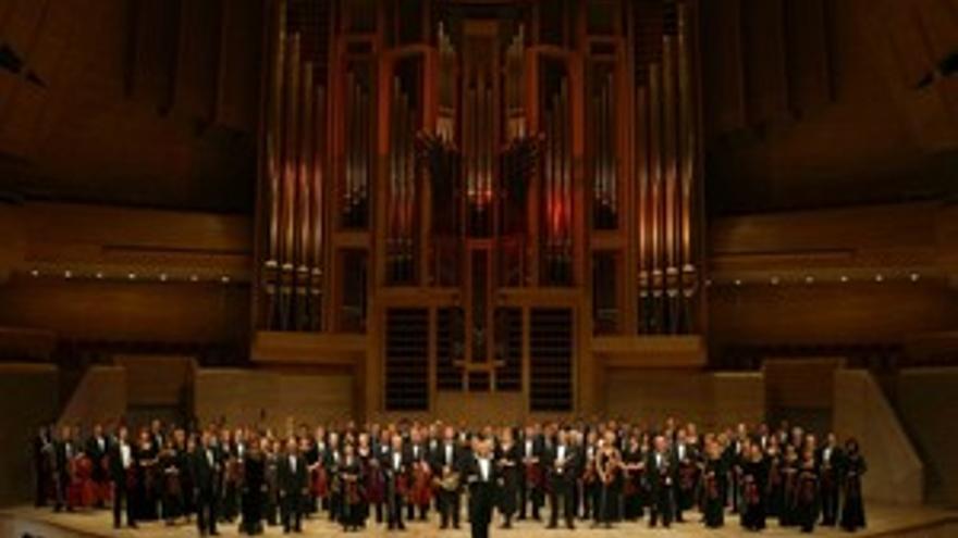 Orquesta filarmónica nacional rusa. (ACN PRESS)