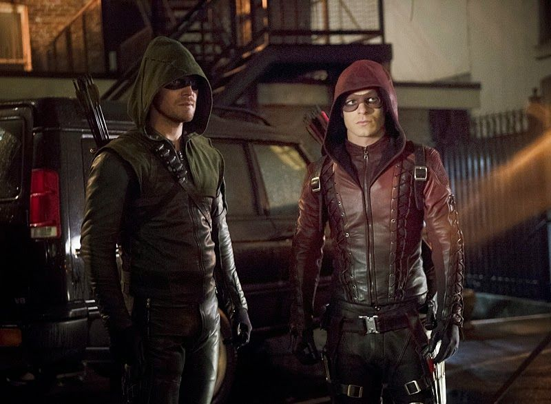 arrow oliver roy
