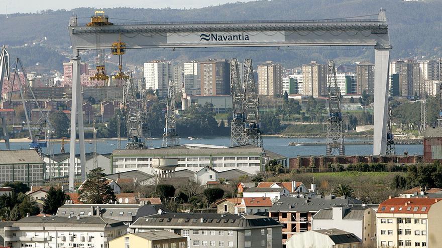 La SEPI pedirá a Bruselas autorización para construir el dique flotante de Ferrol