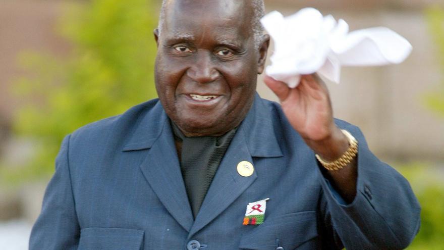 Hospitalizado el primer presidente de Zambia, Kenneth Kaunda, de 97 años