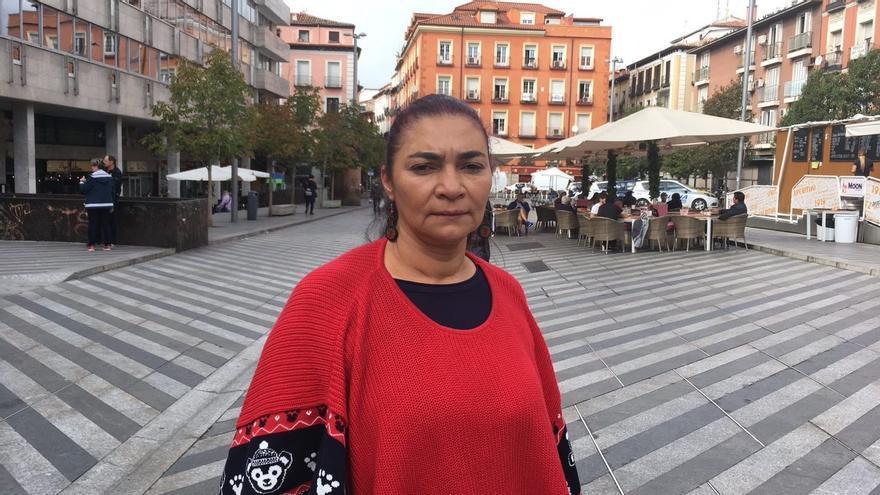 La defensora colombiana Rudy Estela Posada.