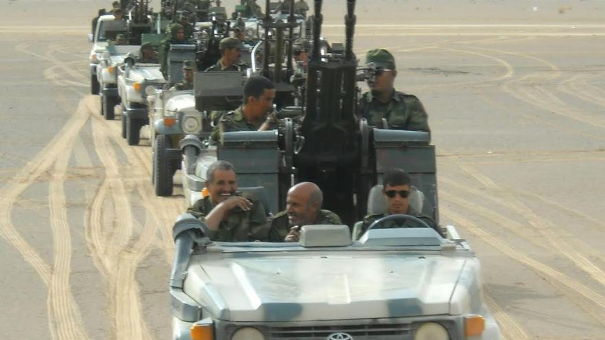Coches del Frente Polisario.