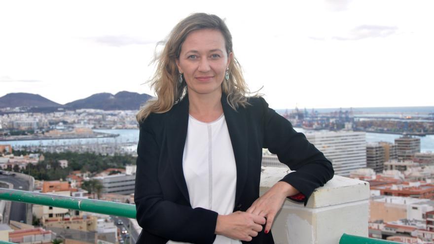 Victoria Rosell, candidata de Podemos por la provincia de Las Palmas.