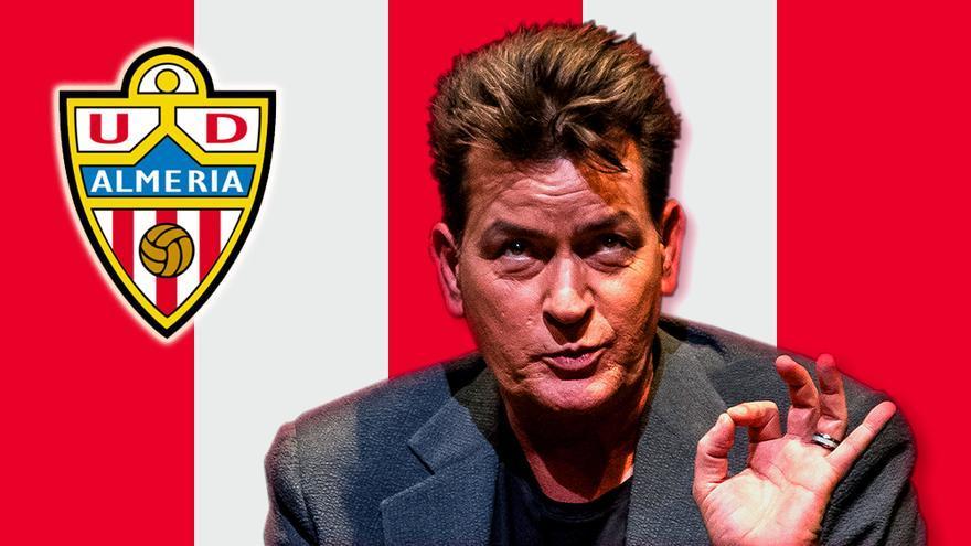 """Charlie Sheen, """"hincha"""" de la UD Almería"""