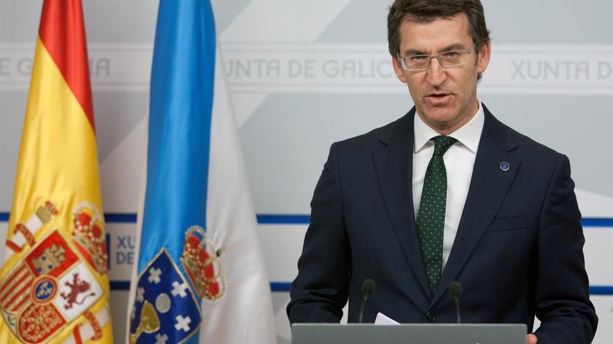 """Feijóo, sobre el caso Bárcenas: """"A Rajoy no le va a doblegar un pillo"""""""