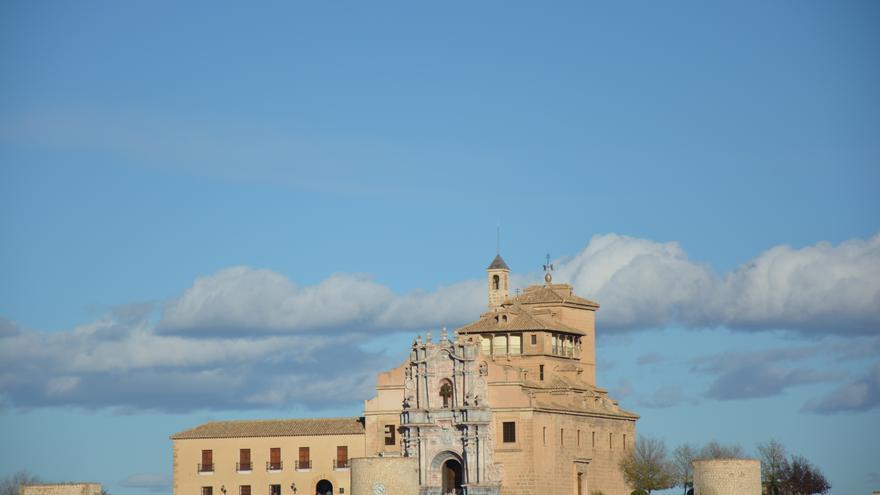 El santuario de Caravaca de la Cruz (Murcia).