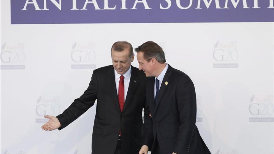 Cameron revela que el Reino Unido frustró siete atentados en los ultimos seis meses