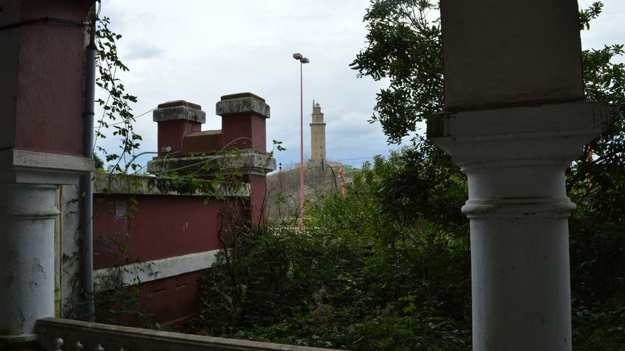 La Torre de Hércules, desde la cárcel
