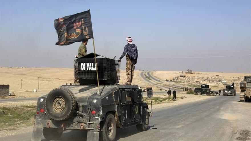 Milicias chiíes toman un pueblo al oeste de Mosul que estaba en manos del EI