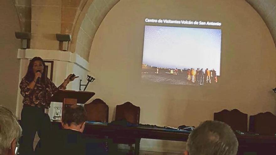 Celia Santos,  concejal de Promoción Turística de Fuencaliente, ha participado en el 'II Encuentro de Starlight de Astroturismo' celebrado en Menorca.