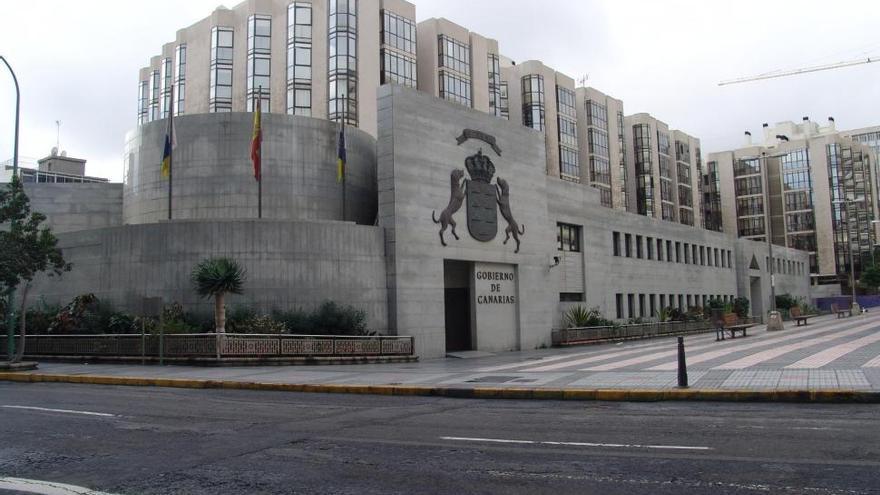 Sede de la Presidencia del Gobierno de Canarias en Las Palmas de Gran Canaria.