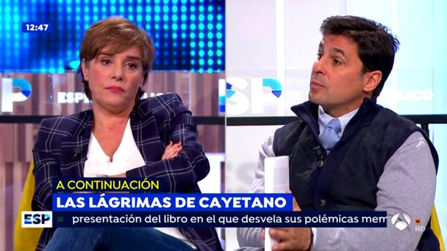 Anabel Alonso y Fran Rivera, en Espejo Público