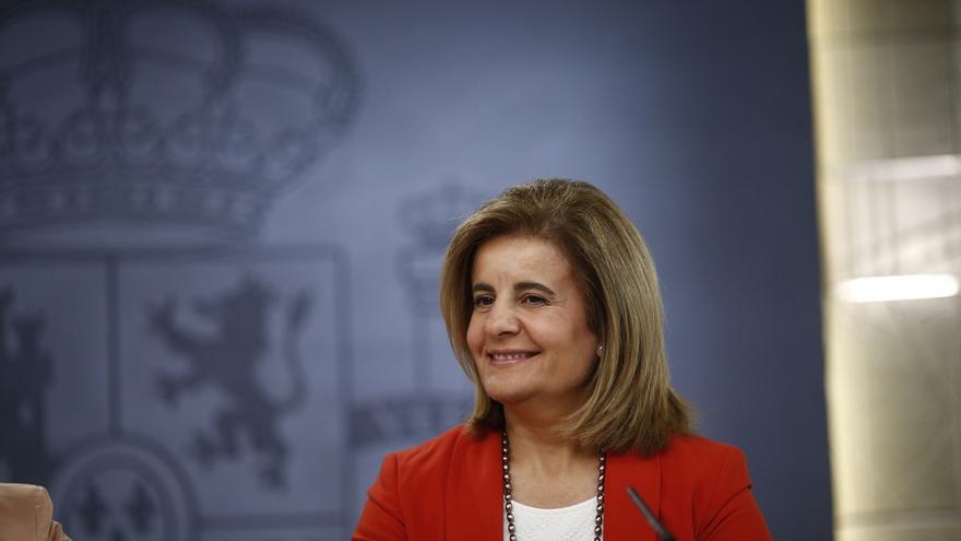 Fátima Báñez, en una imagen de archivo cuando ocupaba el cargo de ministra de Trabajo.