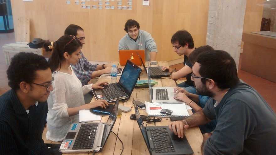 Imagen del primer evento organizado por HackathonLovers (Imagen: HackathonLovers | Flickr)