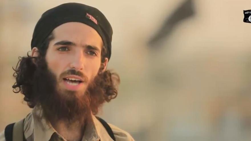 Imagen del vídeo del ISIS sobre el atentado de Barcelona.