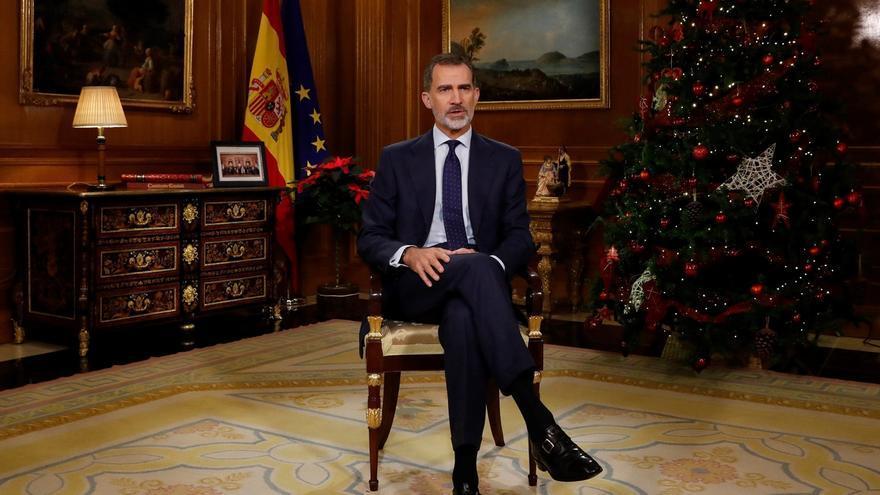 """Gabriel Rufián compara el discurso del Rey con un """"mitin de Vox"""""""