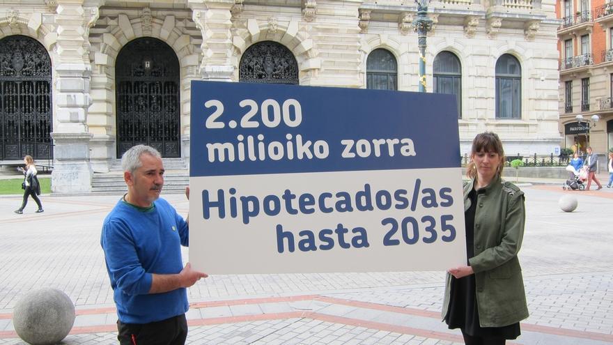 EH Bildu se compromete a investigar la deuda de la Diputación para aclarar cuántos casos Bidegi existen en Bizkaia