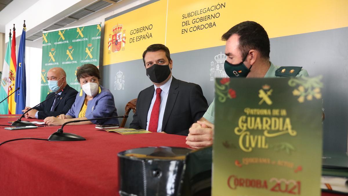 Presentación de los actos de la Guardia Civil en Córdoba