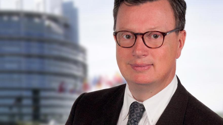 Edouard Ferrand, eurodiputado del Frente Nacional.