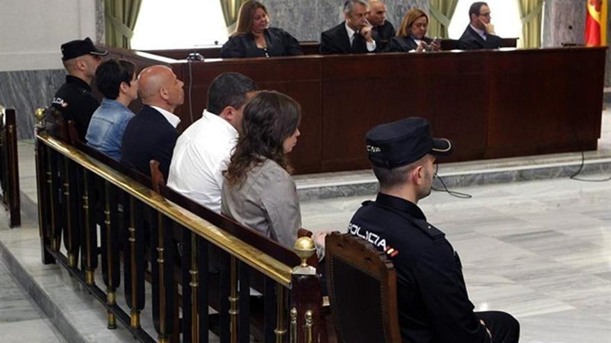 Banquillo del juicio del caso Kárate