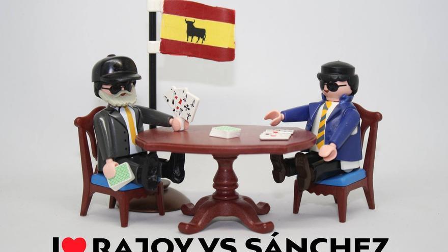 I love Rajoy vs Sánchez