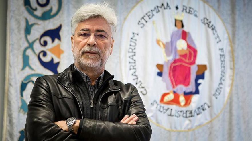 Humberto Hernández, catedrático de la Lengua Española en la Universidad de La Laguna
