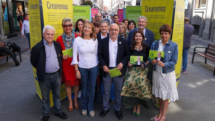 Antonio Morales presenta sus 450 medidas para el Cabildo de Gran Canaria