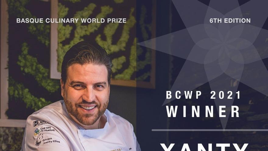 El chef Xanty Elías, ganador del Basque Culinary World Prize 2021