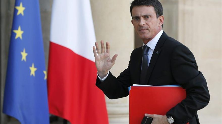 Valls: Francia bombardea el EI en Siria, donde se planificaron los atentados
