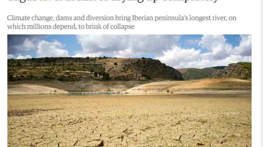 Información de 'The Guardian' sobre el río Tajo