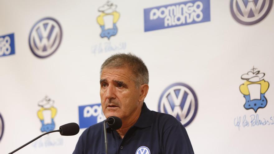 Paco Herrera, entrenador de la UD Las Palmas (Foto:Carlos Díaz Recio/udlaspalmas)