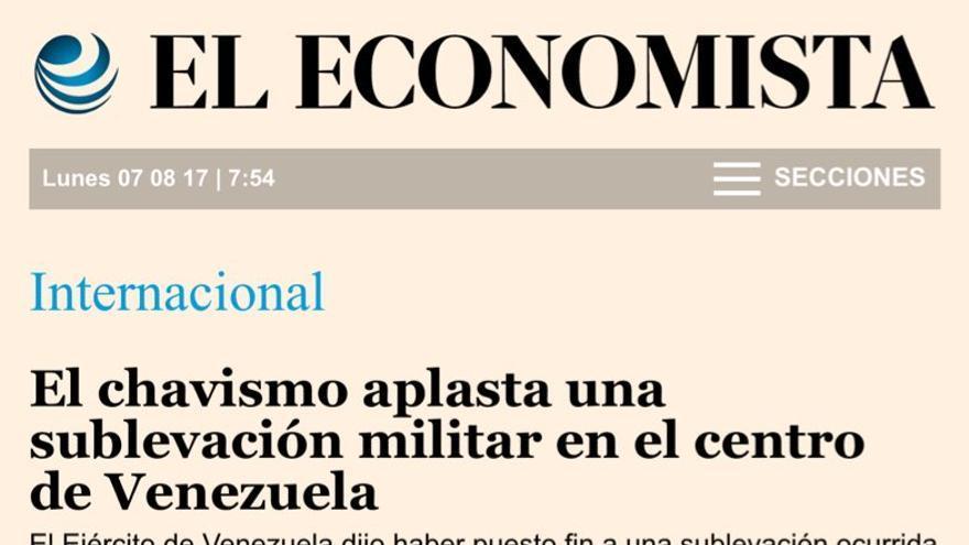 Pieza de El Economista
