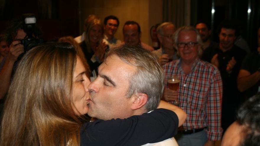 Momentos de celebración en las filas del PP de Badajoz / RSR