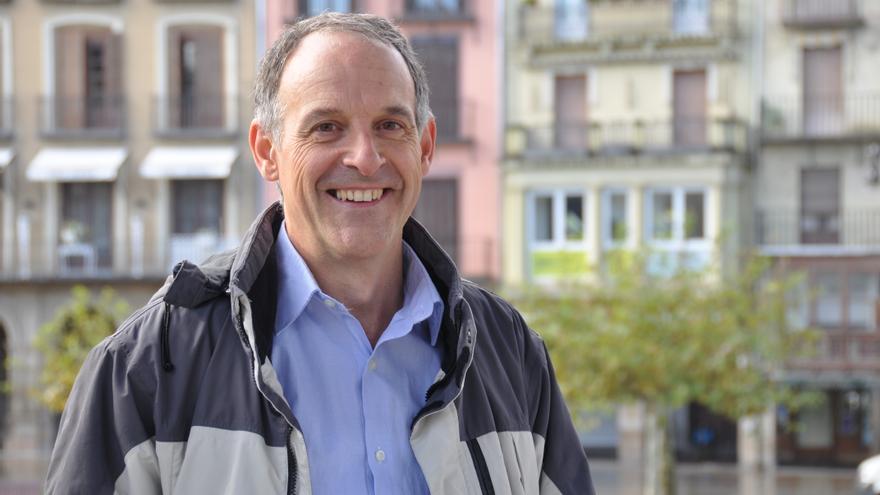 El candidato de EH Bildu a la Presidencia del Gobierno de Navarra, Adolfo Araiz.