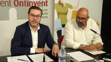 El concejal Pablo Úbeda, junto a Enric Nomdedéu, Secretario Autonómico de Empleo