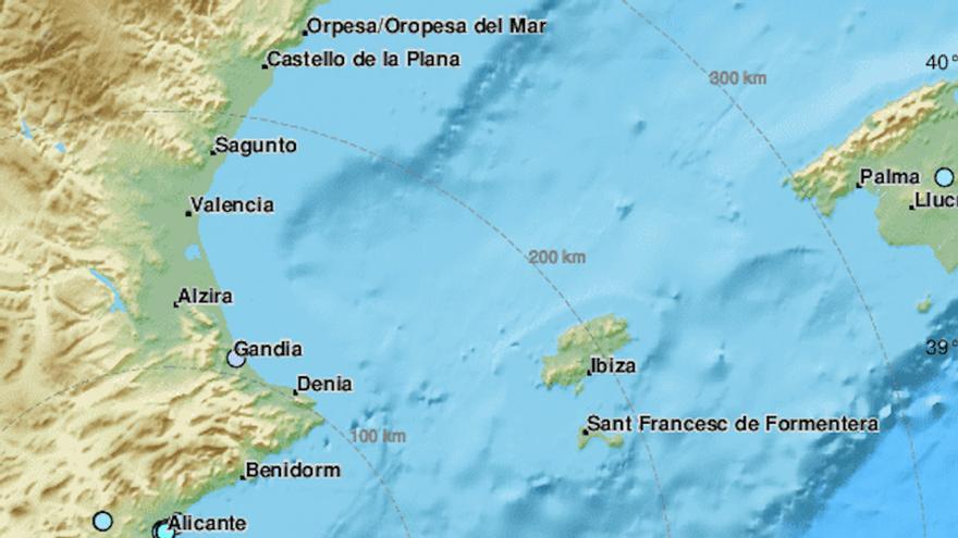 Un terremoto de cuatro grados sacude la Región / Centro Sismológico Euromediterráneo