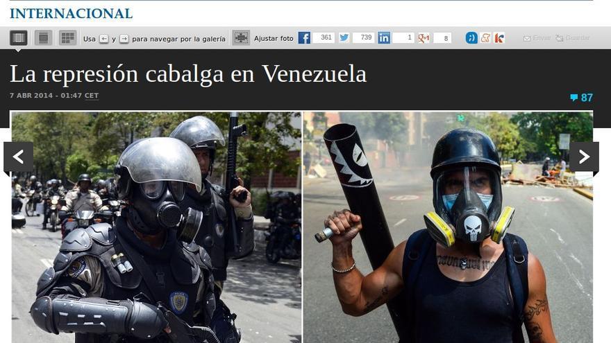 Venezuela víctima de la represión
