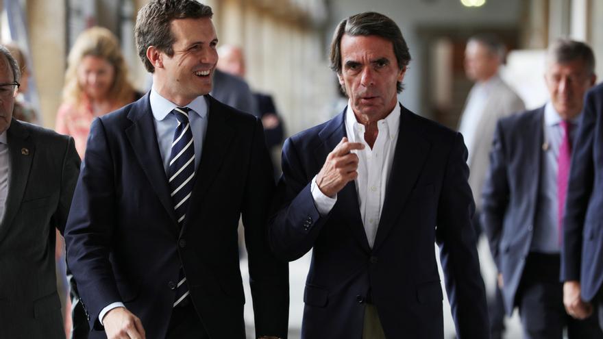 Casado y Aznar expresan sus condolencias por el fallecimiento de Jacques Chirac