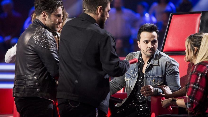 """Los primeros asaltos de """"La Voz"""" en Antena 3 demuestran que Luis Fonsi ¿tiene el equipo ganador?"""
