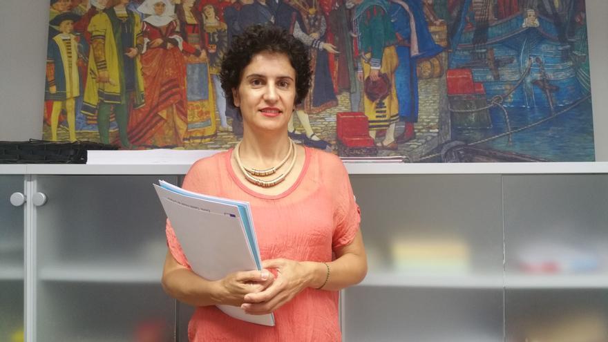 Jovita Monterrey es consejera de Asuntos Sociales del Cabildo de La Palma. Foto: LUZ RODRÍGUEZ