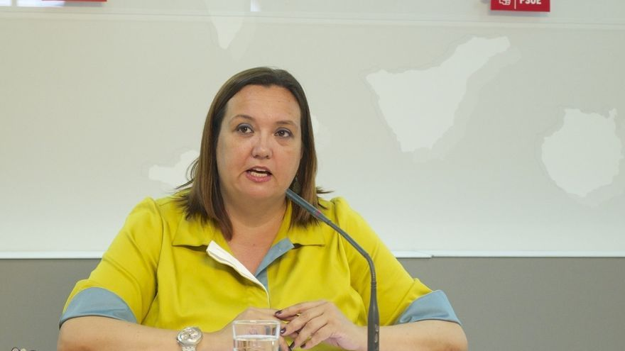 La secretaria de Organización del PSOE de Canarias, Marián Franquet.