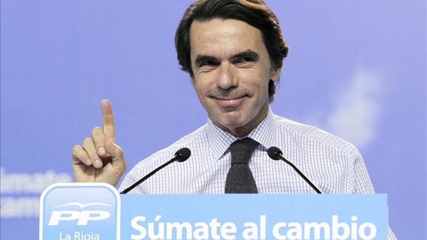 Es difícil que haya prosperidad sin seguridad, asegura José María Aznar