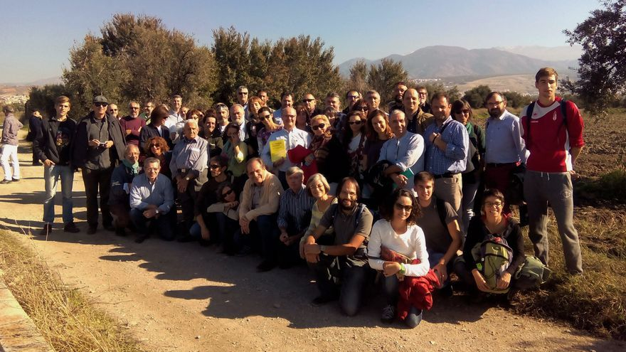 Participantes de las Jornadas que tuvieron lugar en Granada