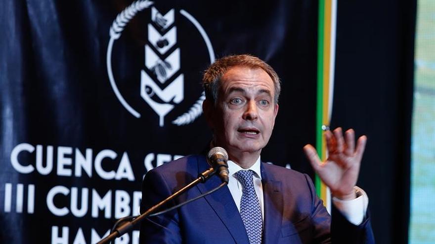 Rodríguez Zapatero denuncia el doble rasero con Venezuela y resalta el diálogo ante la crisis