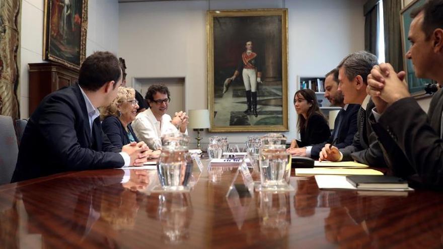 Carmena obtiene el visto bueno del PSOE al plan Chamartín pactado con el PP