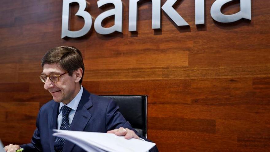 """Goirigolzarri:la fusión con BMN es """"magnífica para los accionistas de Bankia"""""""