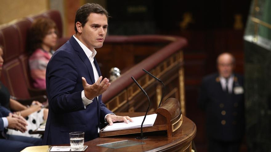 La iniciativa de Ciudadanos para apoyar al Gobierno ante el independentismo provoca la división en el Congreso