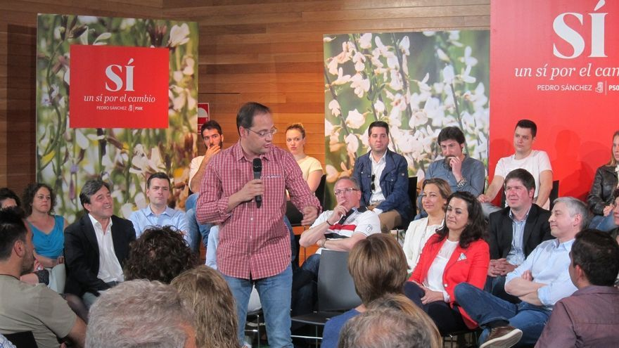 """Luena asegura que """"el verdadero cambio viene de un partido fuerte no de amalgamas de diferentes fuerzas políticas"""""""